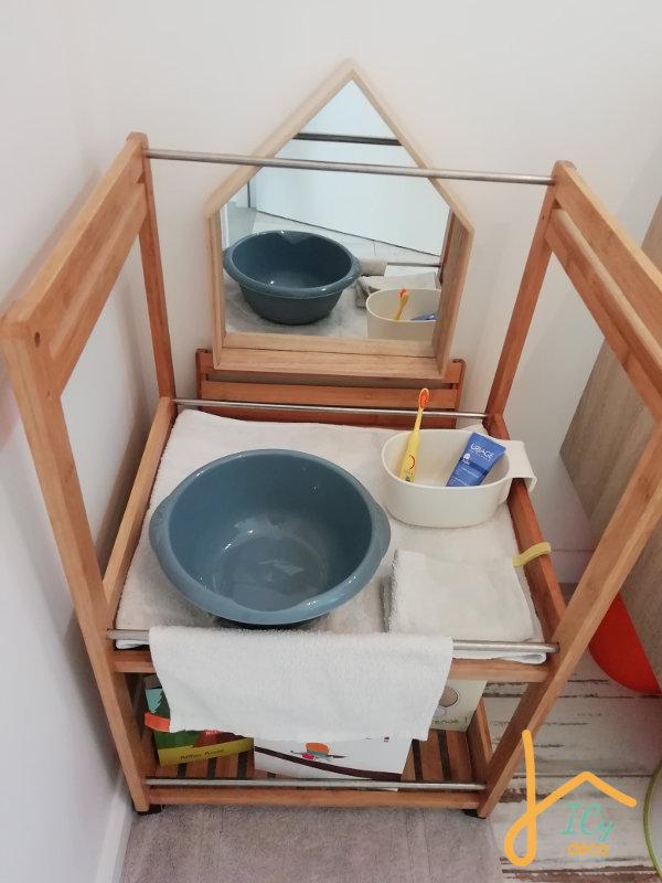 Un meuble sur mesure DIY pour une salle de bain avec enfant   ICy déco