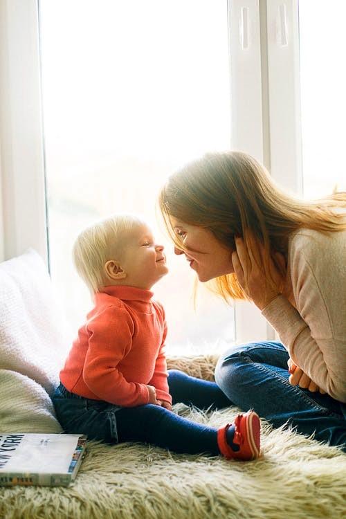 amour maman enfant
