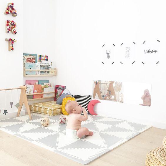 chambre montessori espace jeu et activités