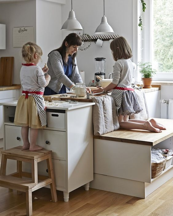 Cuisine familiale accessible à chaque cohabitant