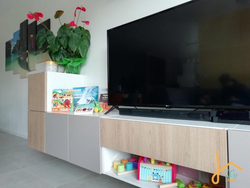 Aménagement Montessori espace jeu dans le salon | ICy déco