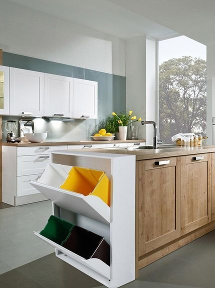 Bien trier ses déchets avec une cuisine optimisée