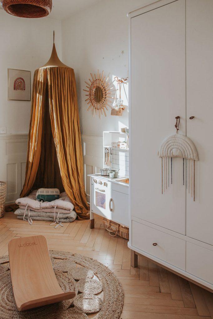 Une chambre Boho chic par Mini Und Stil