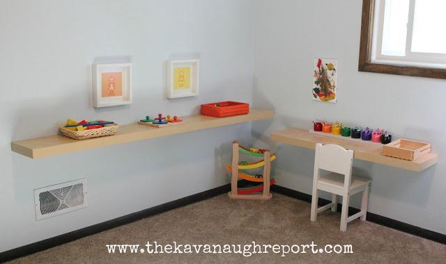 Un espace jeu et éveil ordonné pour une chambre Montessori réussie  The Kavanaugh report