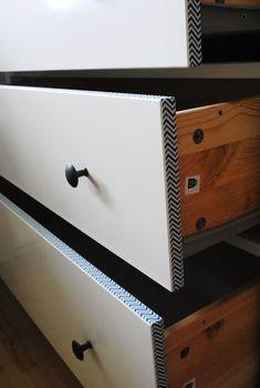 Customiser des meubles avec du masking tape #hacking
