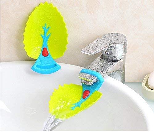 Un prolongateur de robinet pour aider votre enfant à se laver les mains